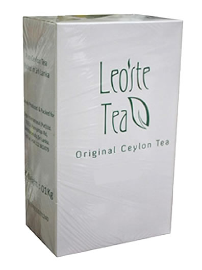 Leoste Green Tea With Ginger & Lemon